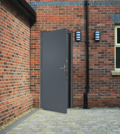 DuraPass door fitted on location